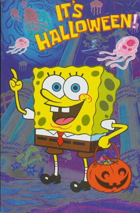 Spongebob Halloween Wallpaper