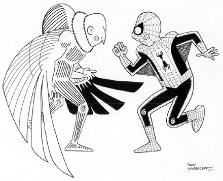Coloring pages Vulture spiderman